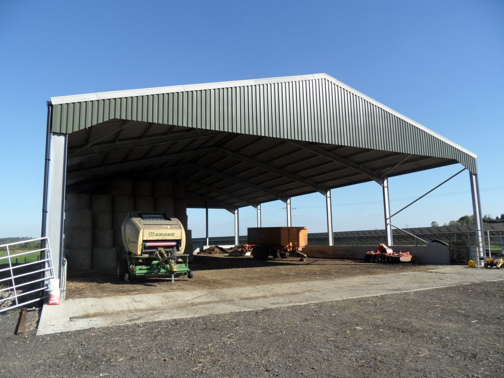 Steel Framed Sheds : Steel fabrications leicestershire about us j g